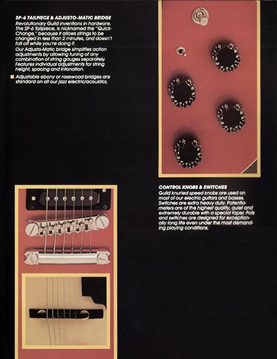 1982 Guild catalogue page 15