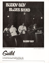 Guild Thunderbird - Buddy Guy Blues Band