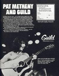 Guild D-40-C - Pat Metheny and Guild