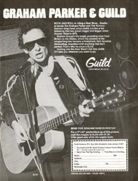 Guild F-37 - Graham Parker and Guild