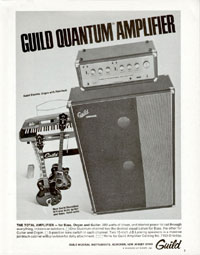 Guild M-75 - Guild Quantum Amplifier