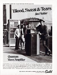 Guild Quantum - Blood, Sweat & Tears. Jim Fielder