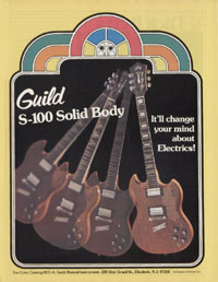 Guild S-100 - Guild S-100 solidy body