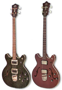Guild Starfire bass-II - taken from the 1969 and 1971 Guild catalogues
