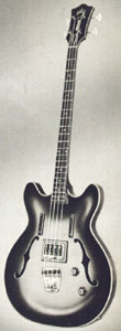 Guild Starfire bass-I - taken from the 1965 Guild catalogue