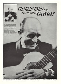 Guild Guitars - Charlie Byrd has discovered Guild
