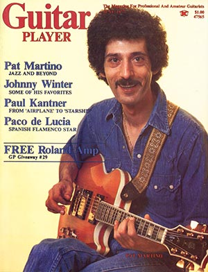 Pat Martino on the cover of Guitar Player magazine with his L5S
