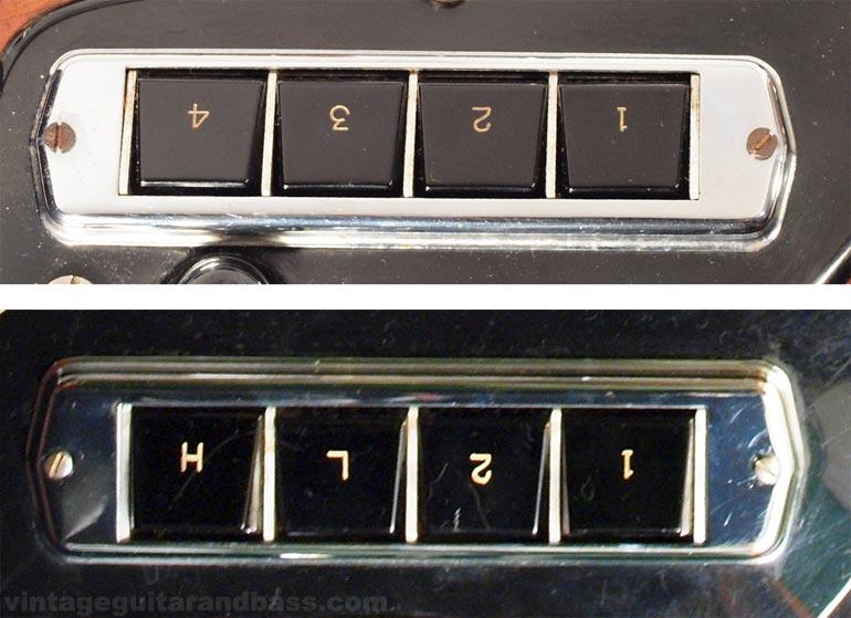 Hagstrom Coronado controls