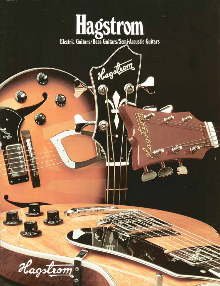 1975 Hagstrom guitar catalogue - Front cover.