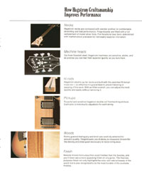 1975 Hagstrom guitar catalogue page 11