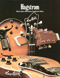 1975 Hagstrom catalogue