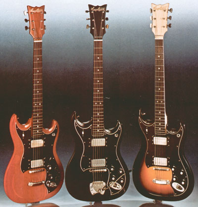 Hagstrom HG800/801, as shown in the 1975 Hagstrom catalogue