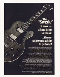 Hagstrom Swede - The Swede ...it took us a long time to make