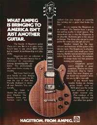 Hagstrom Swede - What Ampeg is bringing to America isnt just another guitar