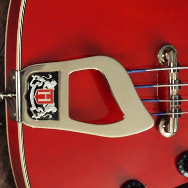 Hagstrom Concord bass deluxe Crest tailpiece