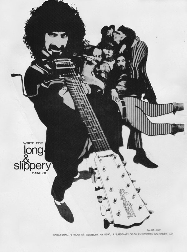 Hagstrom advertisement (1967) Long and Slippery