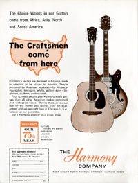 Harmony H76 - The Crafstmen Come From Here