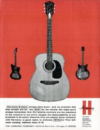 Harmony H19 Silhouette - Harmony guitars