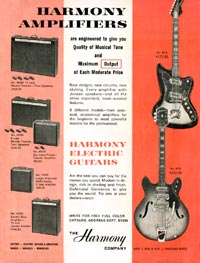 Harmony H440 - Harmony Amplifiers - Harmony Electric Guitars