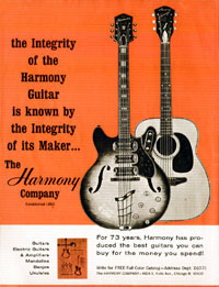 Harmony H77 - The integrity of the Harmony guitar is known by the integrity of its maker