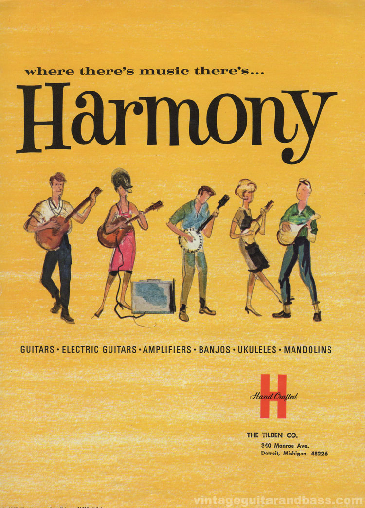 1965 Harmony Catalogue front cover