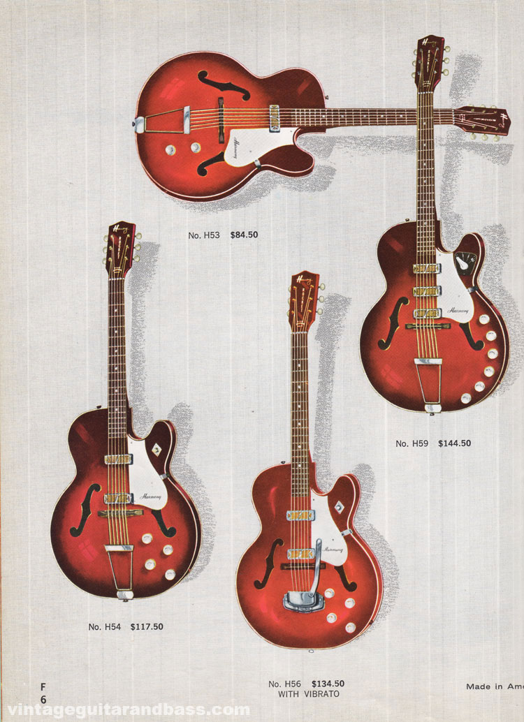 1965 Harmony Catalogue page 6 - Harmony Rocket