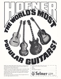 Hofner 500/1 - Hofner The World
