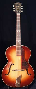 1961 Hofner Congress acoustic guitar