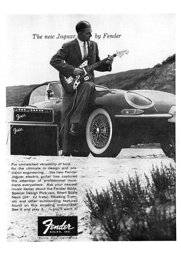 Fender advertisement (1962) The new Jaguar by Fender