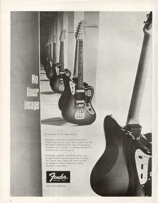 Fender advertisement (1966) No Finer Image