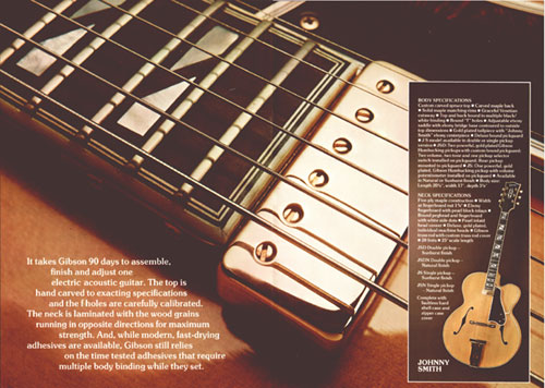 Gibson JSN single pickup as featured in the 1975 Gibson catalogue