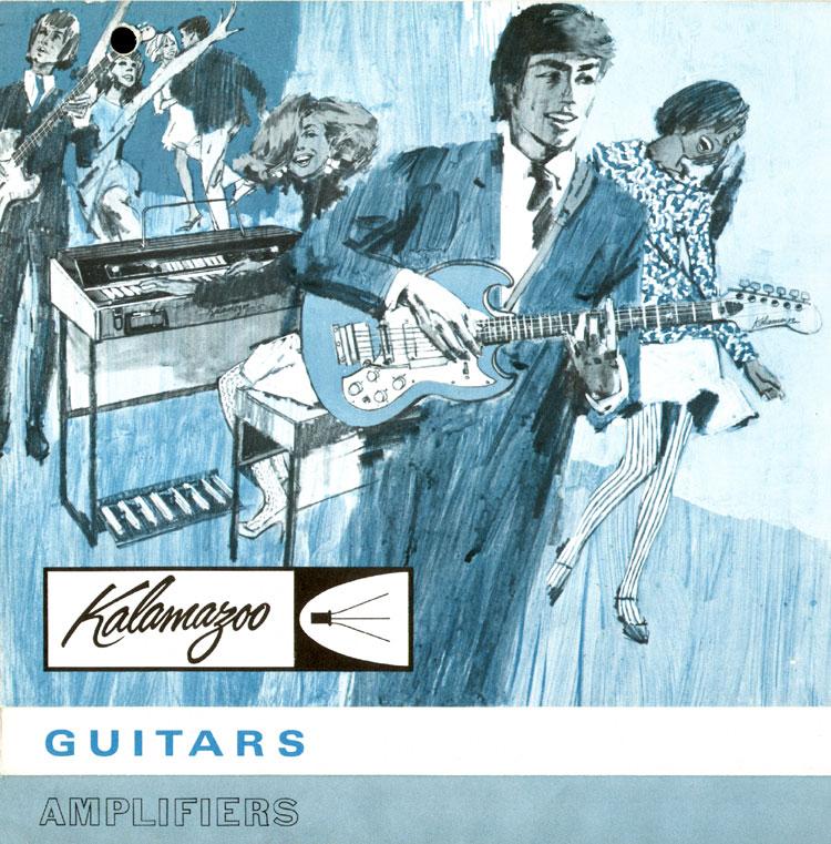 1966 Kalamazoo catalogue page 1