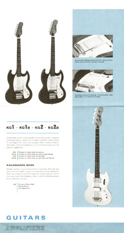 1966 Kalamazoo catalogue page 2