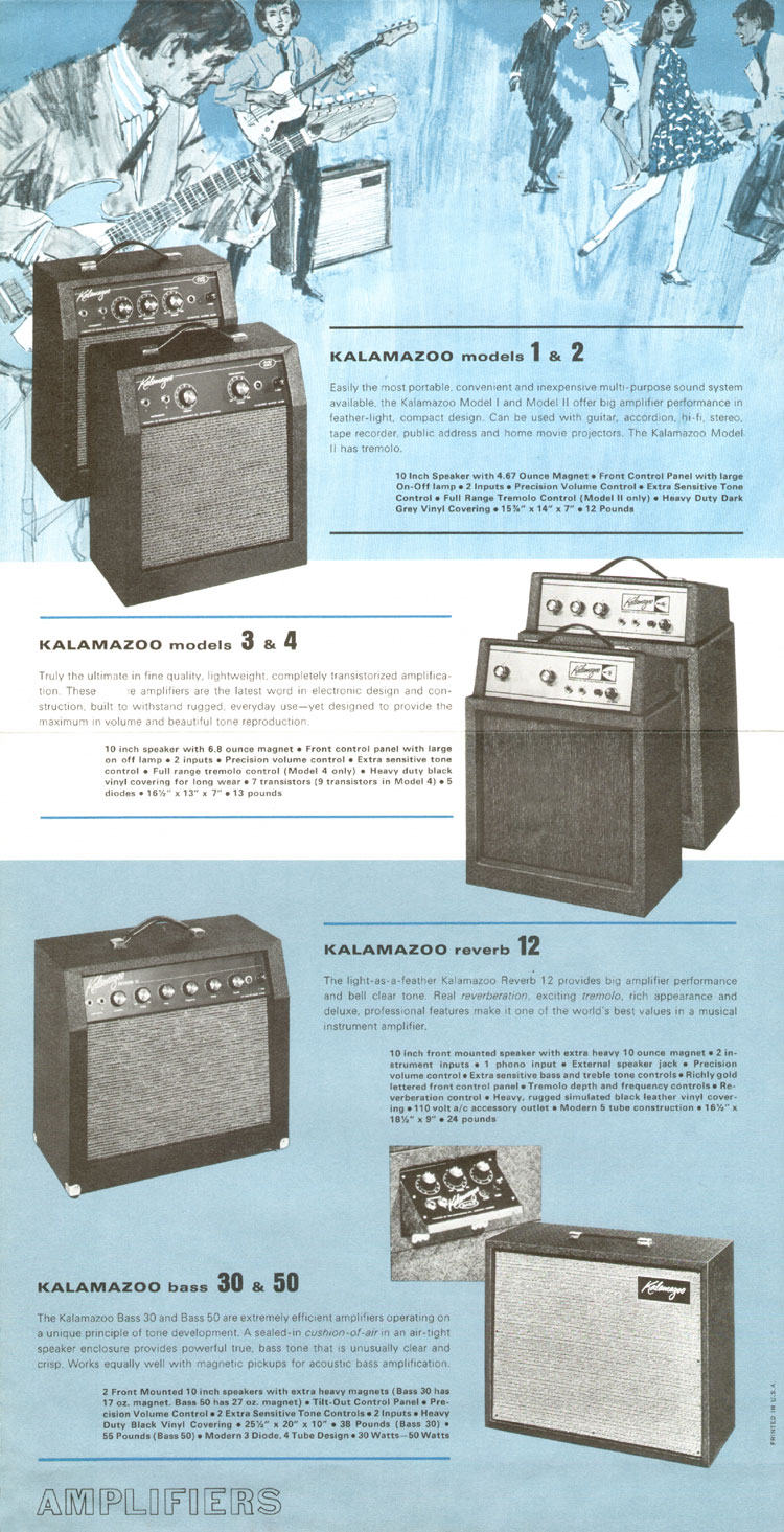 1966 Kalamazoo catalogue page 3