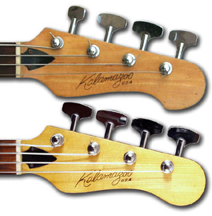 Kalamazoo KB Bass headstocks