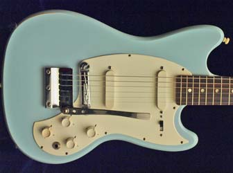 1966 Kalamazoo KG2a electric guitar