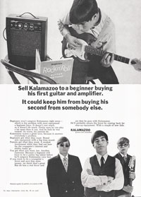 1967 Kalamazoo advert