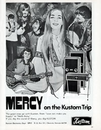 Kustom Amplifiers - Mercy on the Kustom Trip