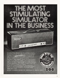 Laney Amplifiers - The Most Stimulating Simulator in the Business