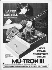 Musitronics Mu-tron III - Larry Coryell - The Eleventh House