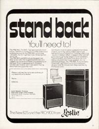 Leslie Pro 900 - Strand Back