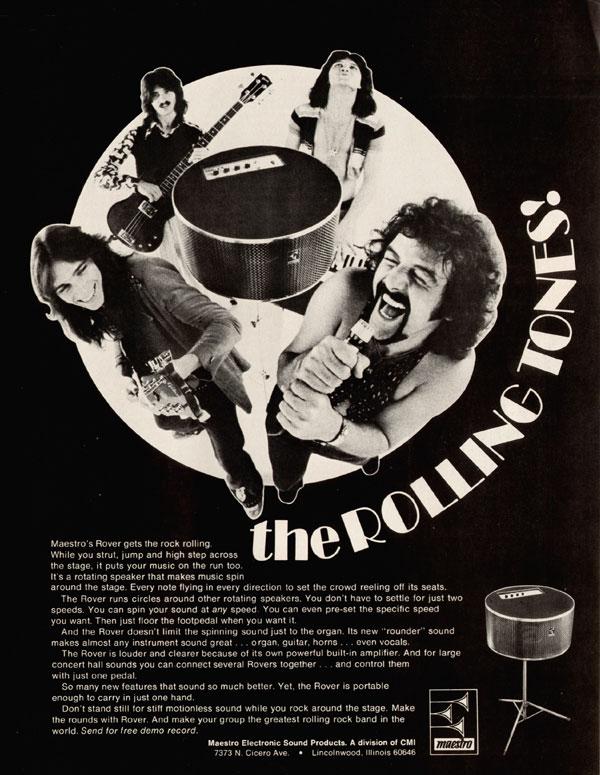 Maestro advertisement (1973) The Rolling Tones