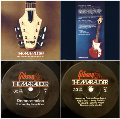1974 Gibson Marauder promotional record