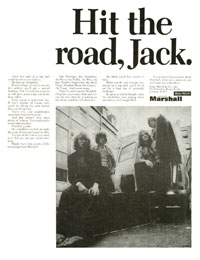 Marshall Amplifiers - Hit the Road, Jack