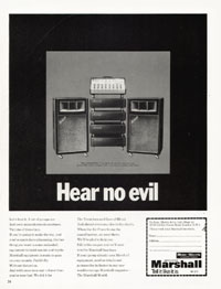 Marshall Amplifiers - Hear No Evil