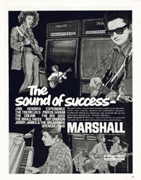 Marshall Amplifiers - The Sound Of Sucess
