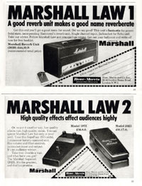 Marshall Supafuzz 1975 - Marshall Law 1 & 2