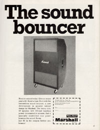 Marshall Amplifiers - The Sound Bouncer