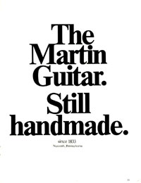 Martin Guitars - The Martin Guitar. Still Hand Made