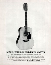 Martin D12-28 - New 12 String Guitar from Martin
